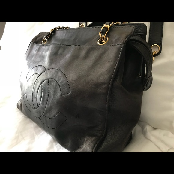 463a347c616b CHANEL Handbags - Vintage Chanel Grand Shopping Tote -Caviar leather